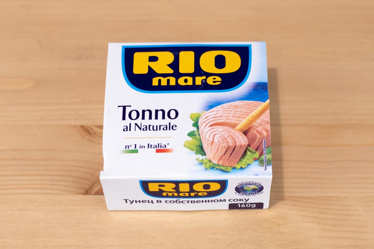 Тунец в собственном соку Tonno al Naturale © Я поел!