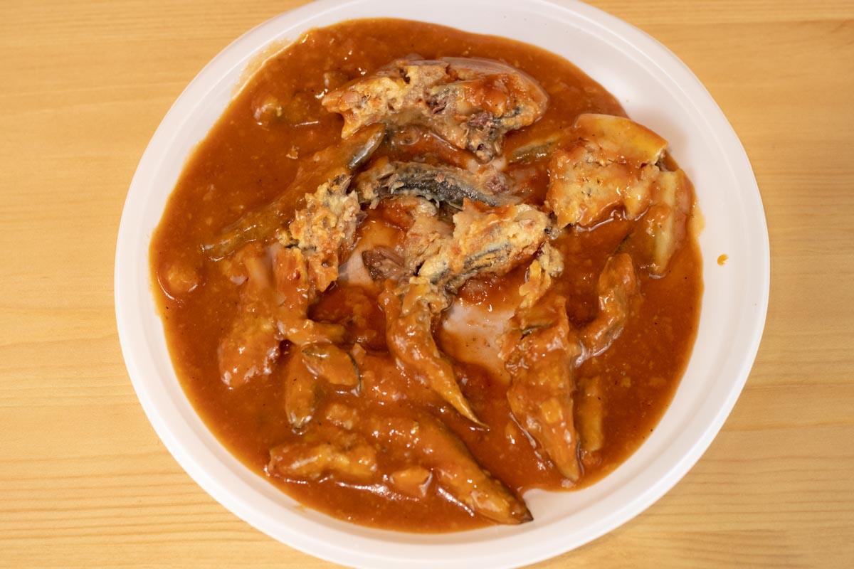 Килька Балтийская неразделенная в томатном соусе © Я поел!