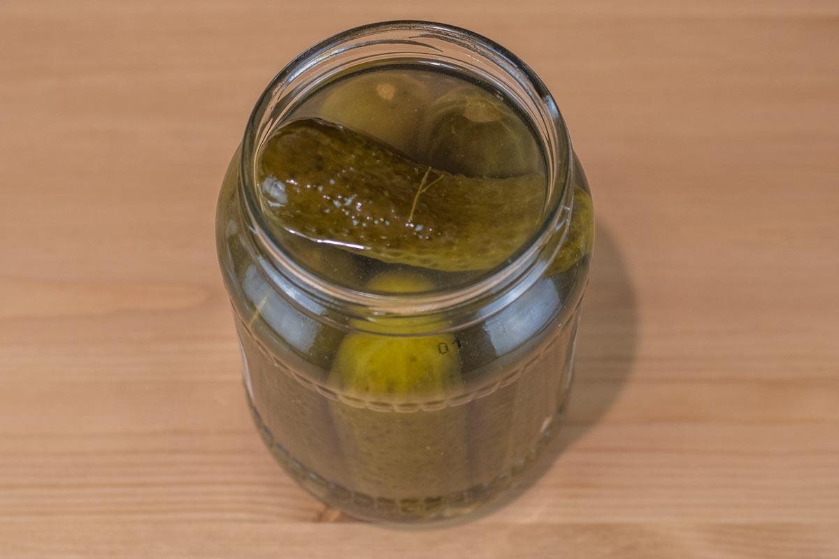Огурчики соленые по-домашнему бочковые © Я поел!