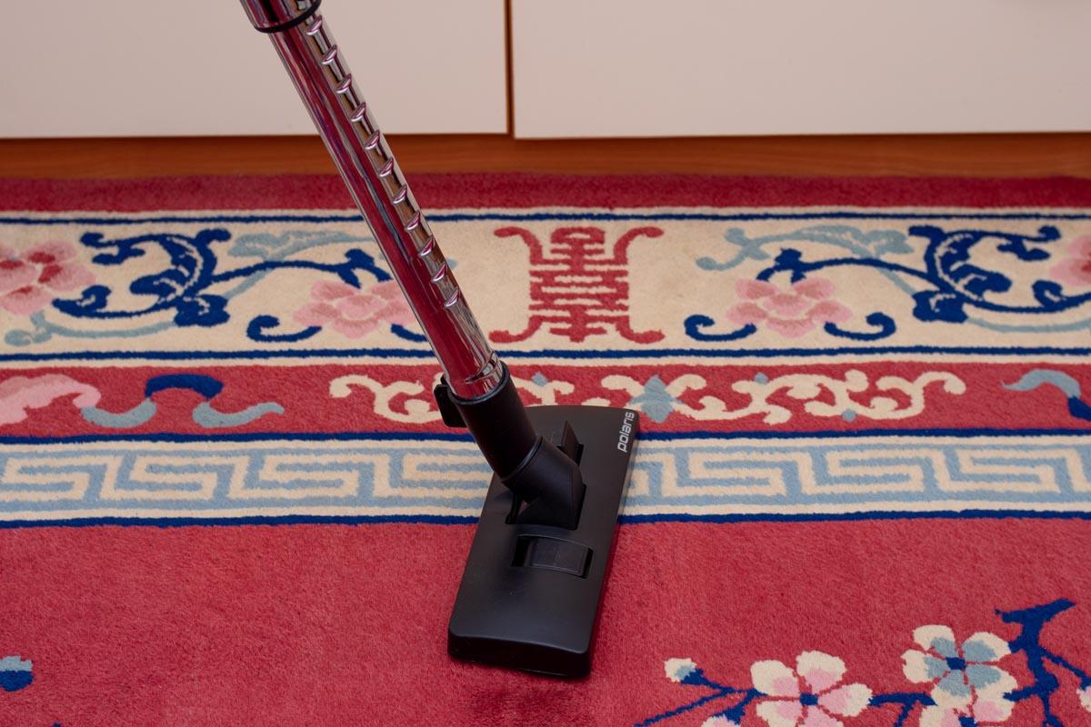 Обзор мешкового пылесоса Polaris PVB 1805 © Я поел!