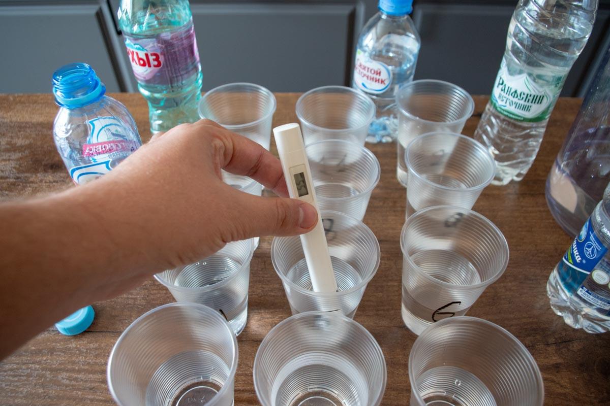 Проверяем качество воды с помощью TDS-метра © Я поел!