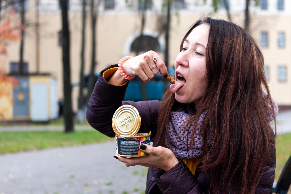 Крымская килька в томатном соусе «Морская радуга»: дешево, но не сердито © Я поел!