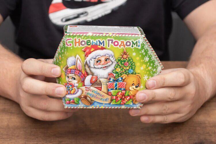 Новогодний подарок за 50 рублей из Fix Price