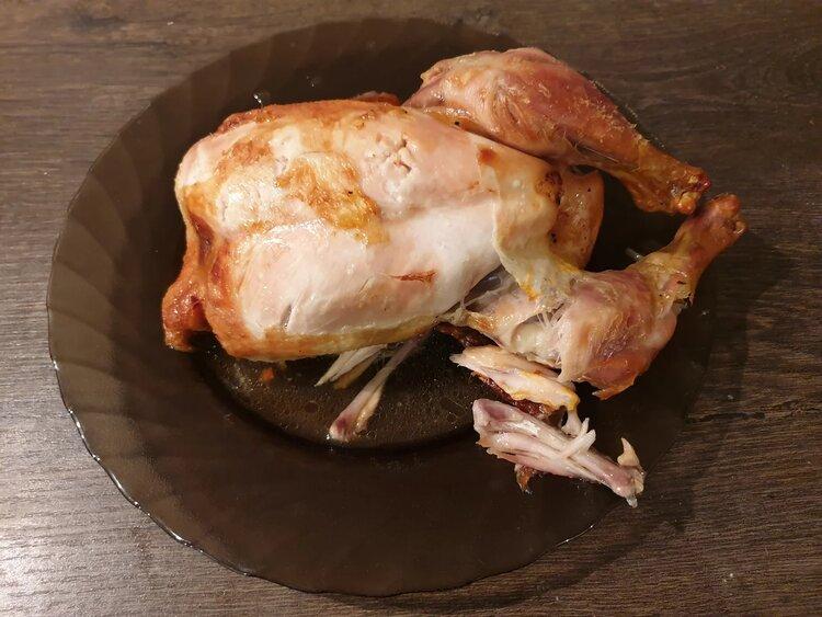 Пробуем тушку цыпленка в маринаде от ООО «Агрохолдинг «Юрма»