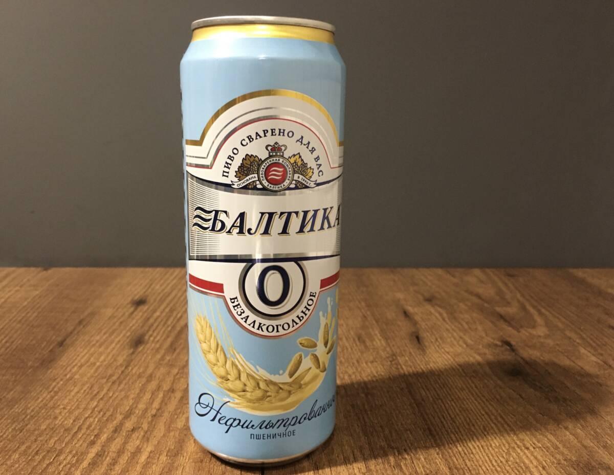 Пробуем пивной напиток безалкогольный неосветленный «Балтика» №0