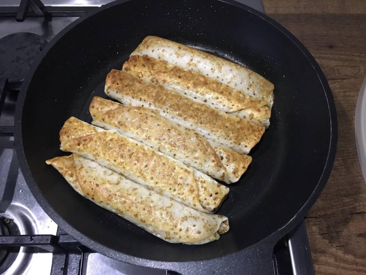 Пробуем блинчики замороженные «С пылу с жару» с ветчиной и сыром