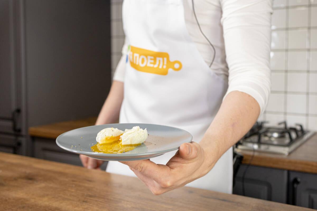 Готовим дома яйцо пашот с шеф-поваром Дмитрием Шведовым
