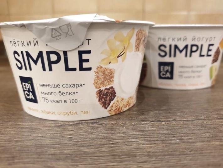 Пробуем йогурт Epica simple с разными вкусами « Ehrman»
