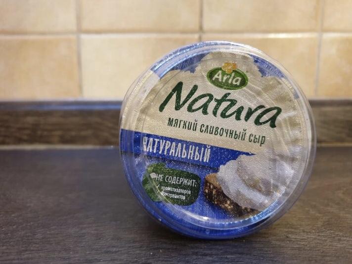 Пробуем мягкий сливочный сыр «Arla Natura»