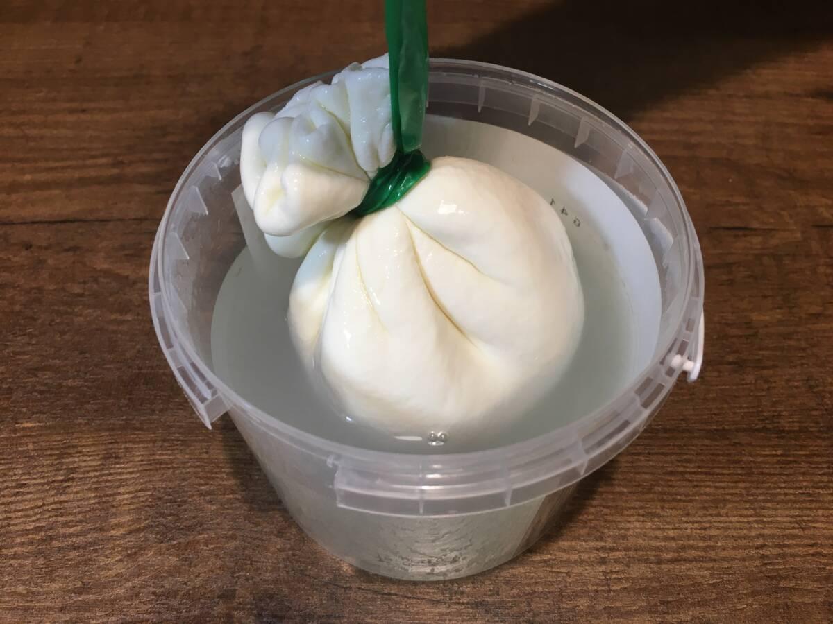 Пробуем мягкий сыр Буррата «Сернурский сырзавод»