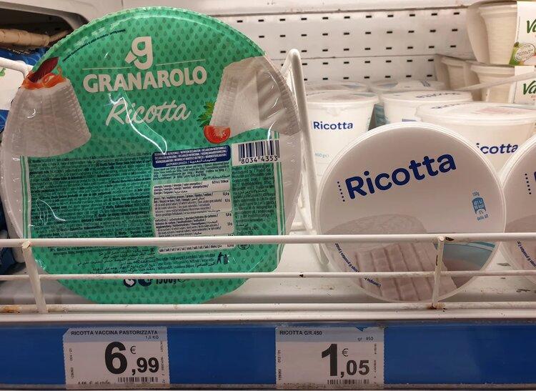 Сколько стоят продукты в Италии