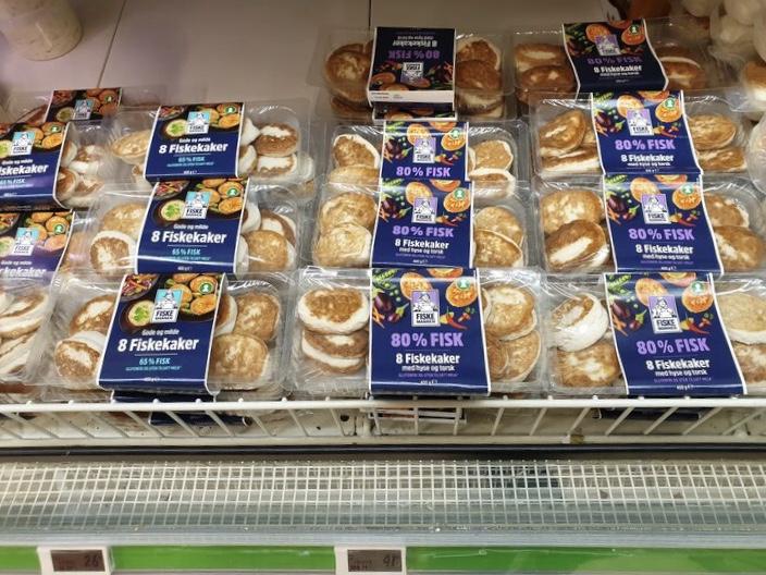 Цены на продукты в Норвегии