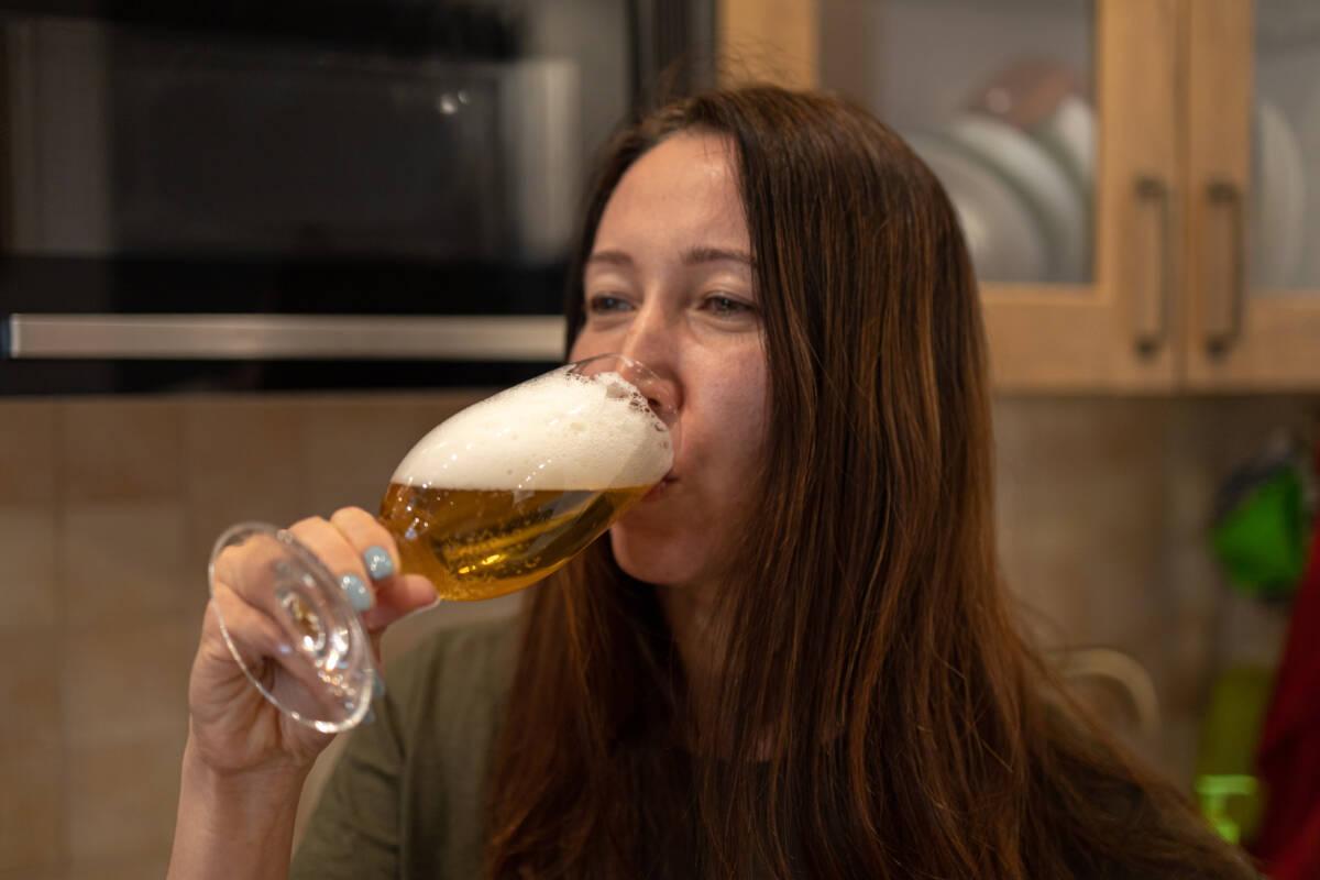 Пробуем норвежское пиво Isbjorn