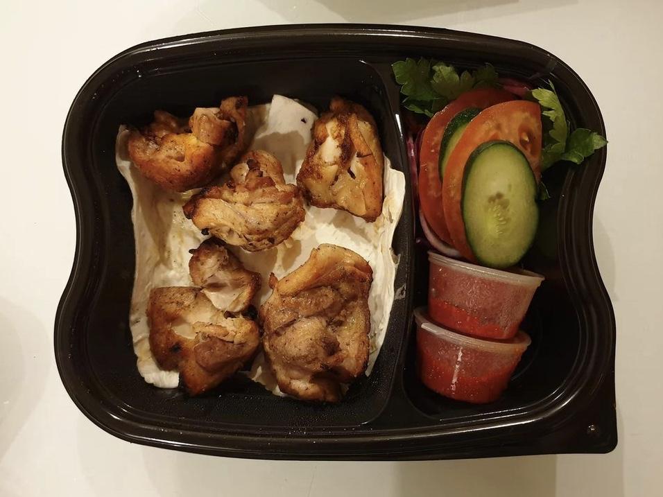 Тестируем доставку еды из казанского ресторана Dalma Gardens