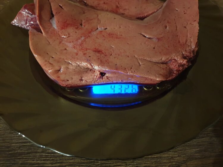 Пробуем стейк из телячьей печени «Мираторг»