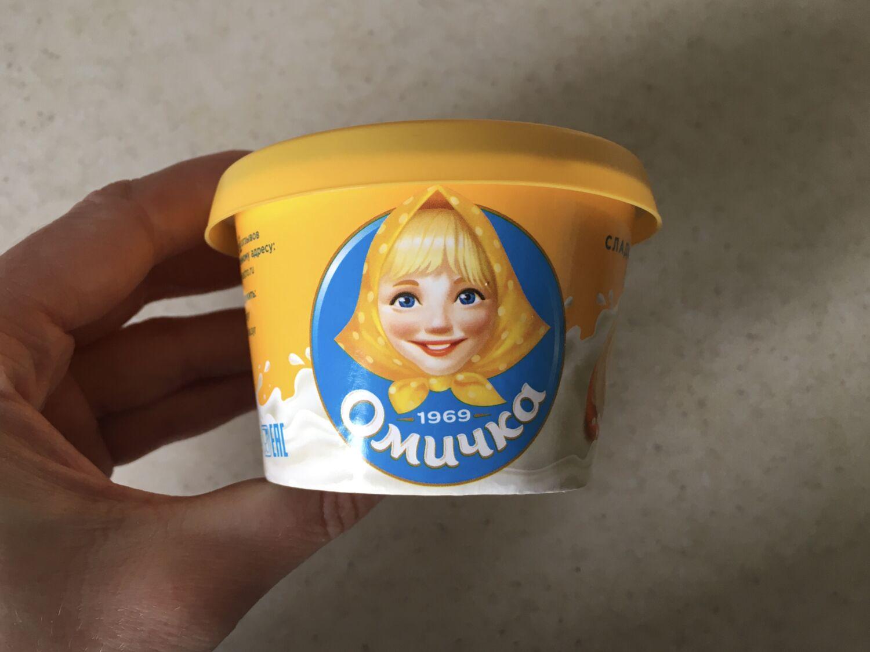 Пробуем сладкий плавленный сыр «Омичка»