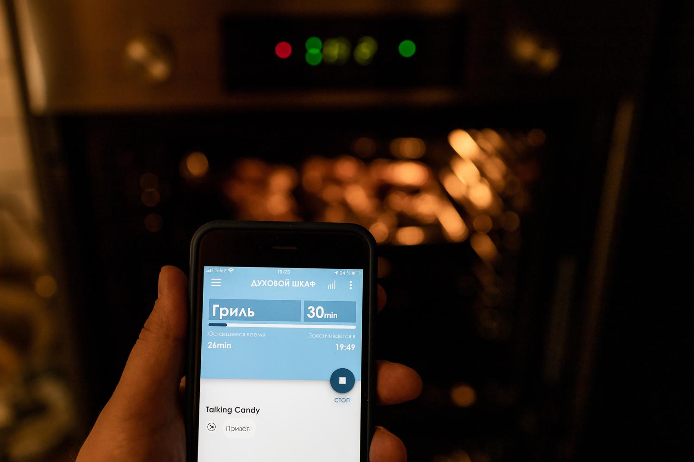 Обзор духового шкафа CANDY FCP815X E0/E с функцией Wi-Fi © Я поел!