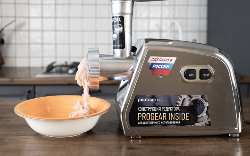 Распаковка и тест мясорубки POLARIS PMG 3087A RUS: готовим итальянские макароны BARILLA CANNELLONI